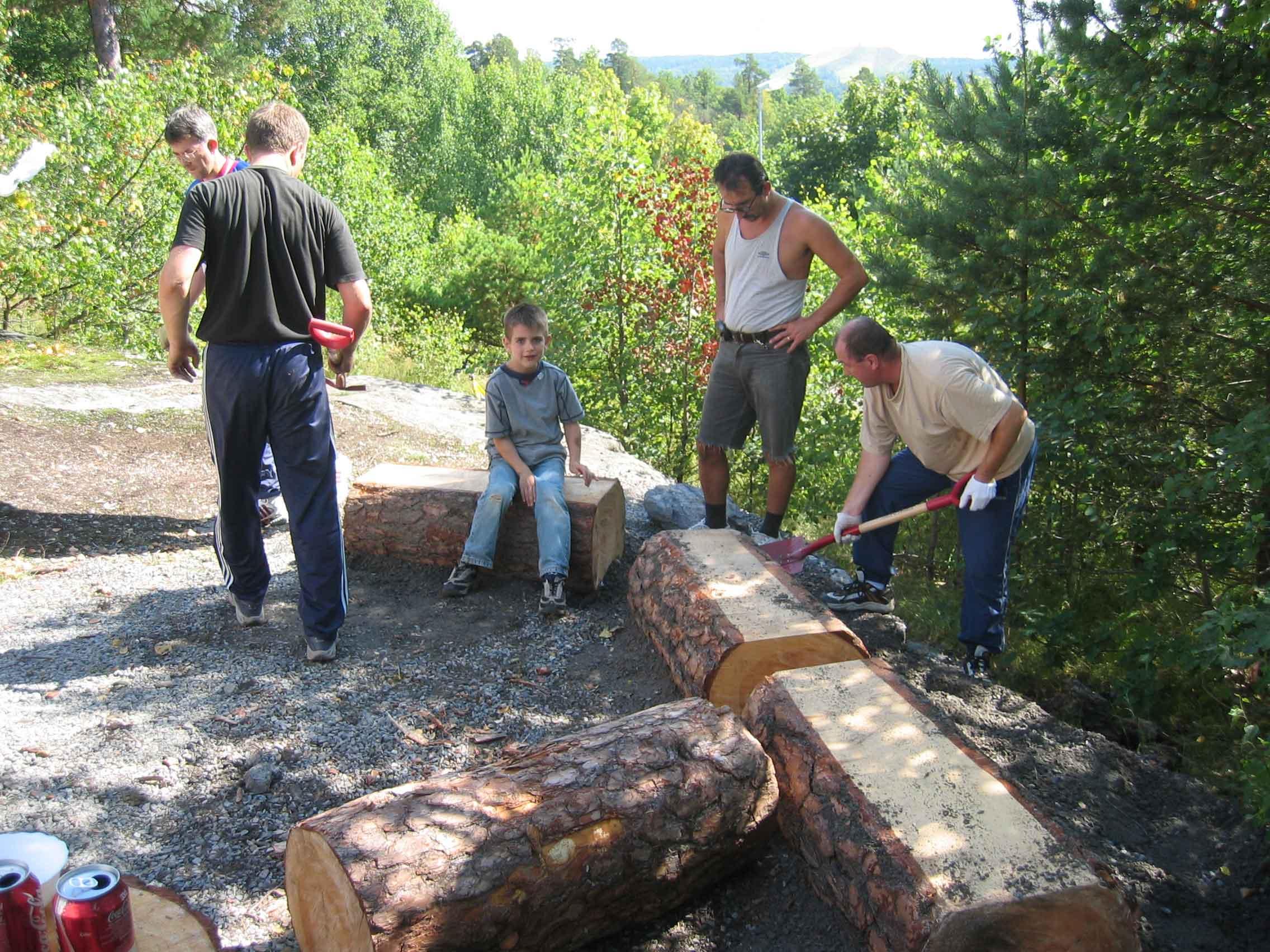 VÃ¥r vakuf   projekt trappan, 2004